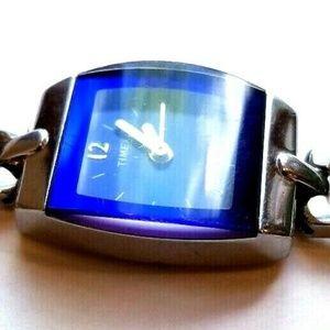 Timex Women's Unique Blue Face Wristwatch